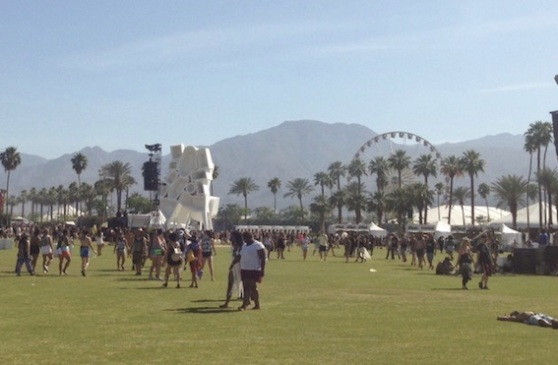 Coachella panaroma