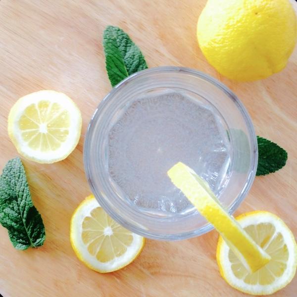 La Minute Healthy : l'eau fruitéedétox