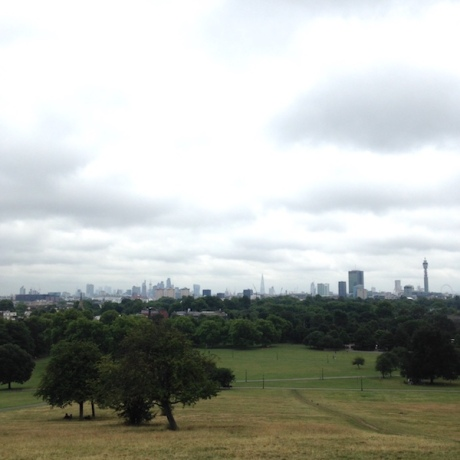 londres-primrose hill view
