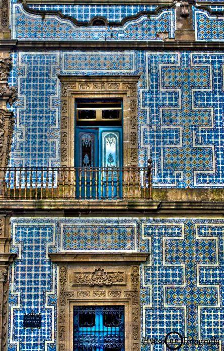 mexico-casa de los azulejos
