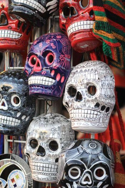 mexico-sugar skulls