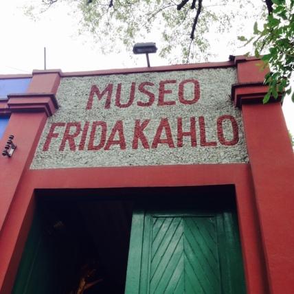 mexico-casa azul-entrée