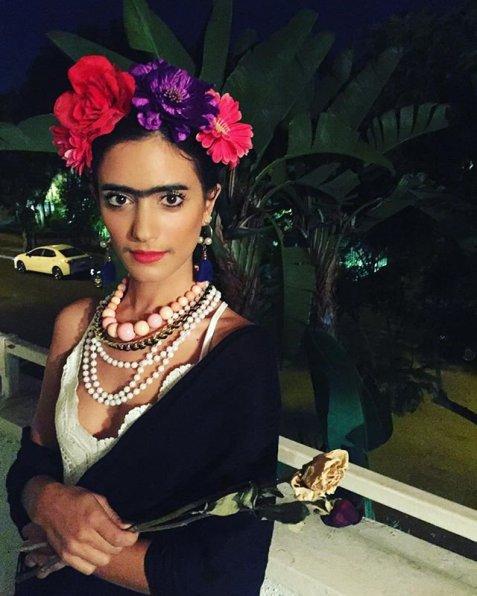 Halloween-Sol-Rodriguez-Frida-Kahlo-diy