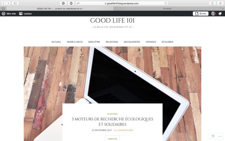 Du changement sur leblog