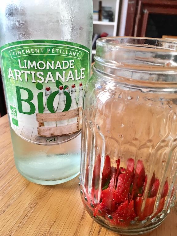 limonade-fraise